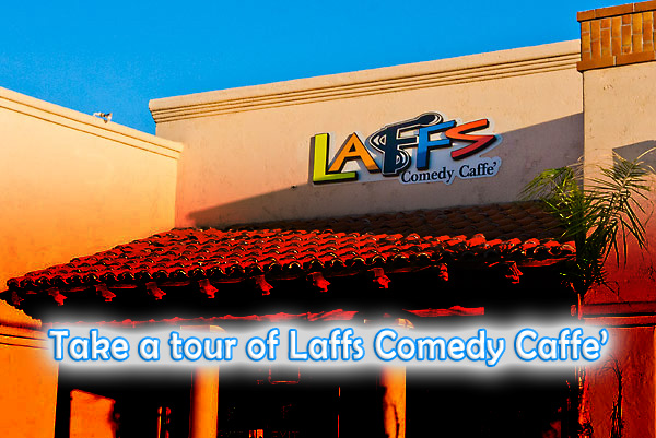 Outside Laffs Comedy Caffe